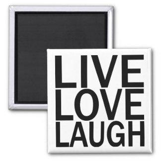 Imán vivo de la risa del amor