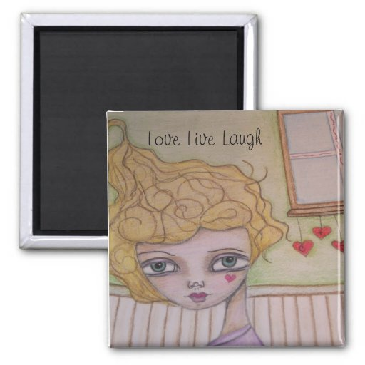 Imán vivo del arte de la risa del amor