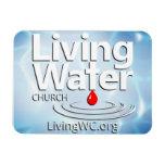 Imán vivo del coche de la iglesia del agua