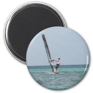 Imán Windsurfing de la circular de los fundamentos