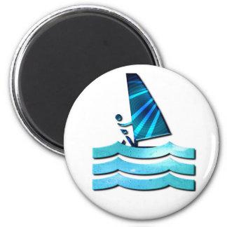 Imán Windsurfing del diseño