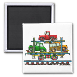 Imanes autos del ferrocarril del coche de portador imanes