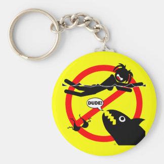 Imanes, botones y más del peligro de la natación llavero redondo tipo pin