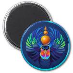 Imanes calientes de la oscuridad del escarabajo imán para frigorífico