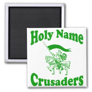 Imanes conocidos santos de la escuela católica imán cuadrado