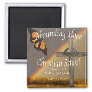 Imanes cristianos de abundancia de la escuela de imán cuadrado
