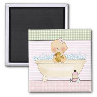 Imanes cuadrados del bebé: Colección dulce del Imán Cuadrado
