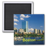 Imanes de Boston Imán Cuadrado