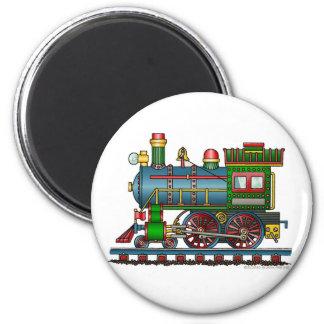 Imanes de Choo Choo del motor de vapor del tren Imán