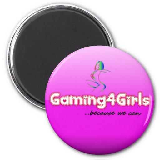 Imanes de Gaming4Girls Imán Redondo 5 Cm