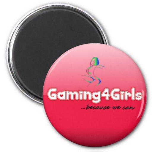 Imanes de Gaming4Girls Imanes