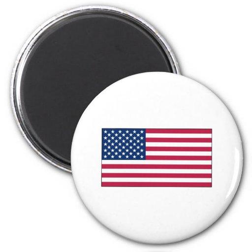 Imanes de la banderaamericana imán de frigorífico