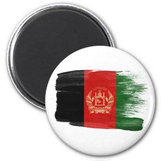 Imanes de la bandera de Afganistán Imán Redondo 5 Cm