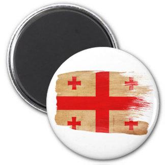 Imanes de la bandera de Georgia Imán De Frigorifico