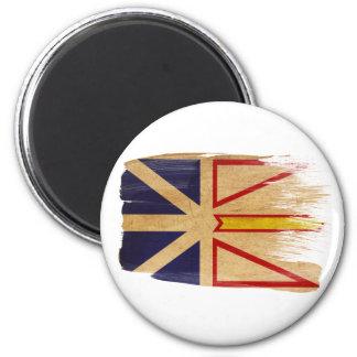Imanes de la bandera de Terranova Imán Redondo 5 Cm