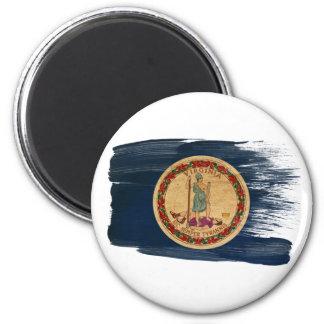 Imanes de la bandera de Virginia
