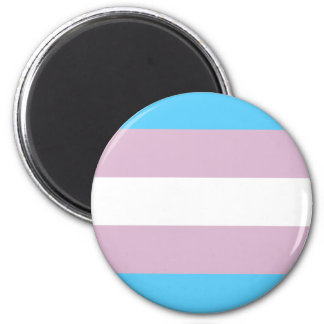 Imanes de la bandera del orgullo del transexual imán redondo 5 cm