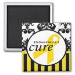 Imanes de la conciencia de la endometriosis imán de frigorifico