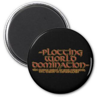 Imanes de la dominación del mundo del trazado