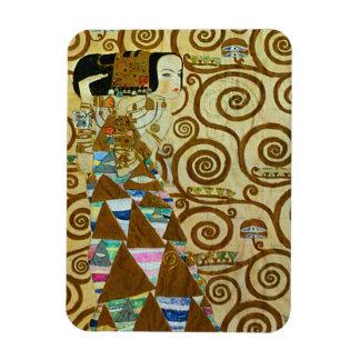 Imanes de la expectativa de Gustavo Klimt