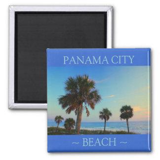 Imanes de la Florida de la palmera de la playa de Imán Cuadrado