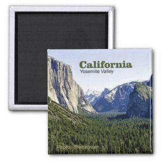 Imanes de la foto del viaje de California del vall