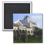 Imanes de la foto del viaje del palacio de Pune la Imán Cuadrado