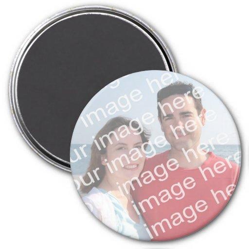 Imanes de la foto imán redondo 7 cm