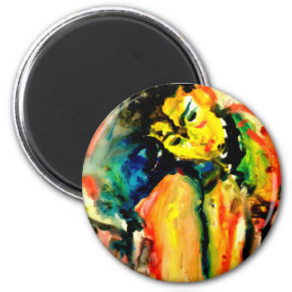 Imanes de la impresión de Rintala- del arte de Imán Redondo 5 Cm