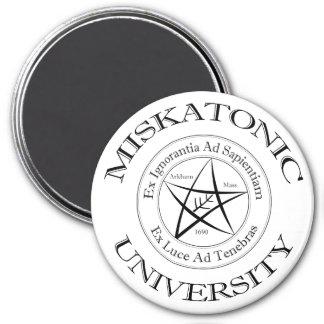 Imanes de la universidad de Miskatonic Imán Redondo 7 Cm