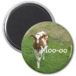 Imanes de la vaca imán para frigorifico