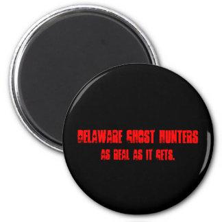 Imanes de los cazadores del fantasma de Delaware Imán Redondo 5 Cm