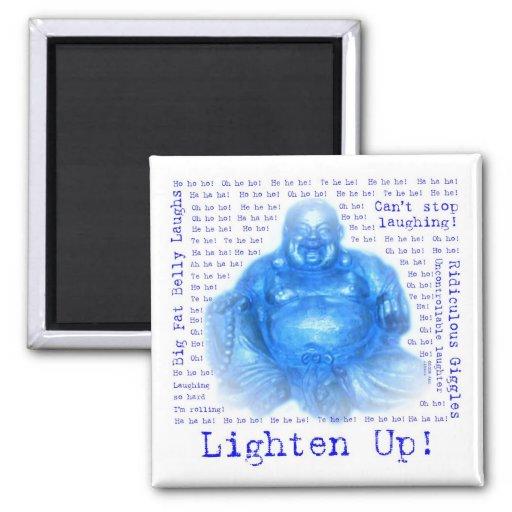 Imanes de risa del refrigerador de Buddah (1) Imán De Frigorífico