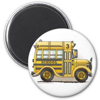 Imanes de Schoolbus Imán Redondo 5 Cm
