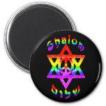 Imanes de Shalom del arco iris Imanes