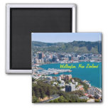 Imanes de Wellington Nueva Zelanda Imán De Frigorífico