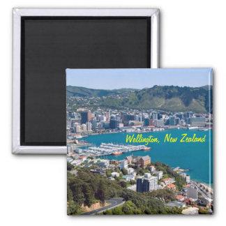 Imanes de Wellington Nueva Zelanda Imán Cuadrado