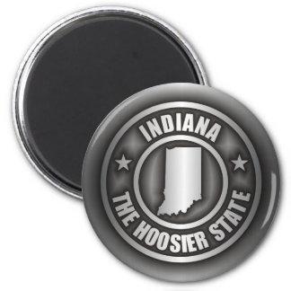 """""""Imanes del acero de Indiana"""" Imán Redondo 5 Cm"""