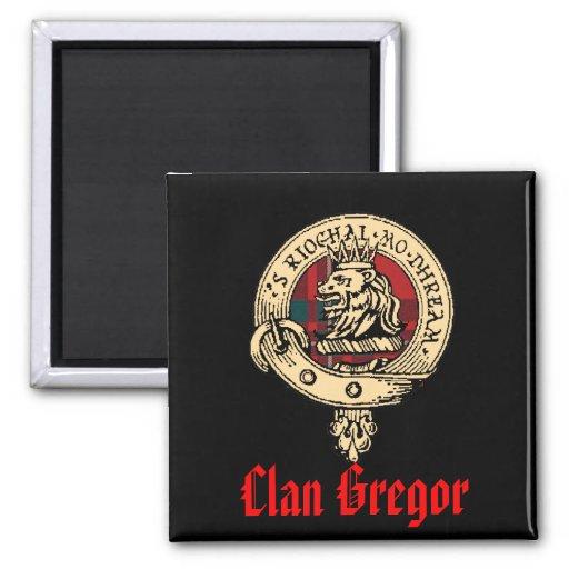Imanes del clan Gregor/MacGregor Imán Cuadrado