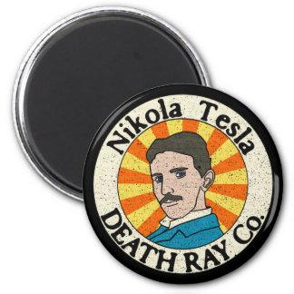 Imanes del Co. del rayo de muerte de Nikola Tesla Imán Para Frigorifico