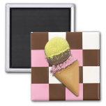 Imanes del cono de helado iman de frigorífico