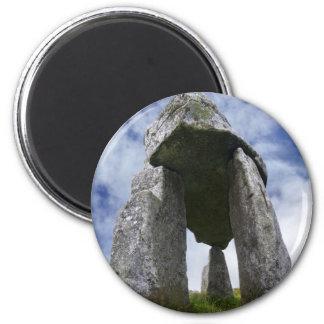 Imanes del dolmen de Leganany Imán Redondo 5 Cm
