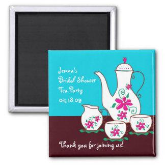Imanes del favor de fiesta del té