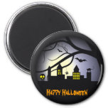 Imanes del feliz Halloween Imán De Nevera