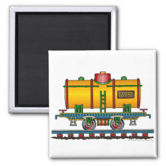 Imanes del ferrocarril del coche del tanque del tr iman