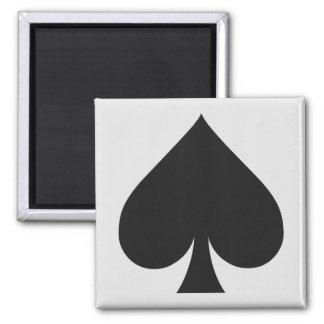 Imanes del jugador de tarjeta - espada imán cuadrado