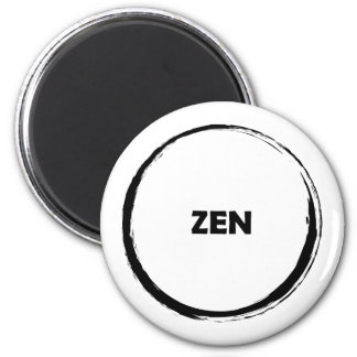 Imanes del momento del zen imán de frigorífico