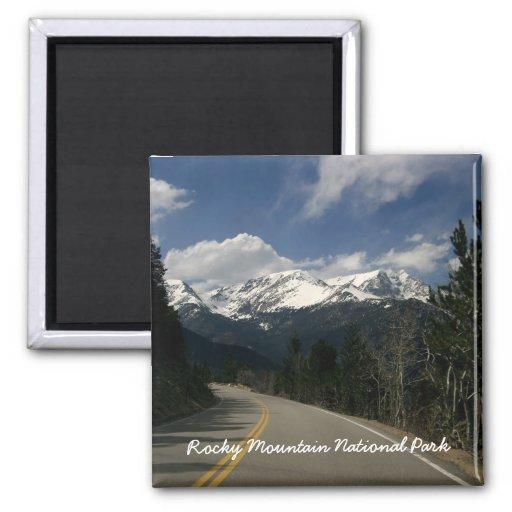 Imanes del Parque Nacional de las Montañas Rocosas Iman De Frigorífico