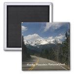 Imanes del Parque Nacional de las Montañas Rocosas Imán De Frigorifico