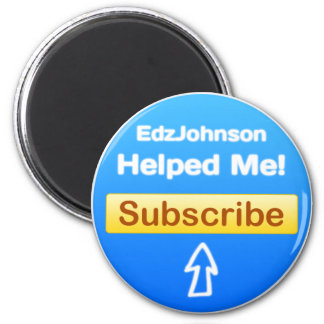 Imanes del refrigerador de EdzJohnson Imán Redondo 5 Cm